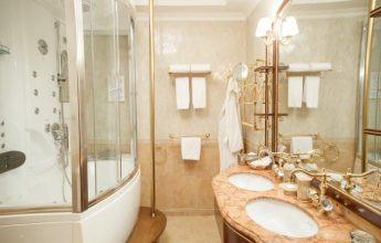 Фото ванной комнаты номера Сюит Президентский