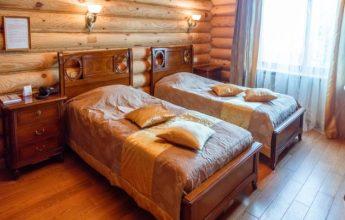 Две раздельные кровати номера 32 кв м экоотеля фото